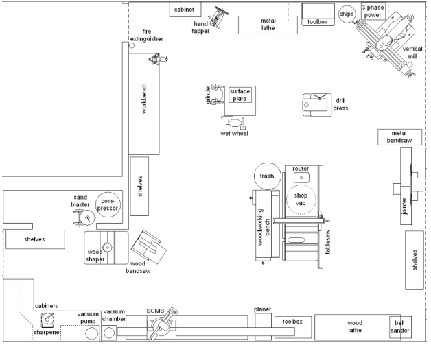 Auto Repair Garage Floor Plans: Mechanic Shop Layout